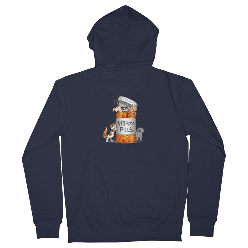 Happy Pills Men's Zip-Up Hoody by The Art of Helenasia