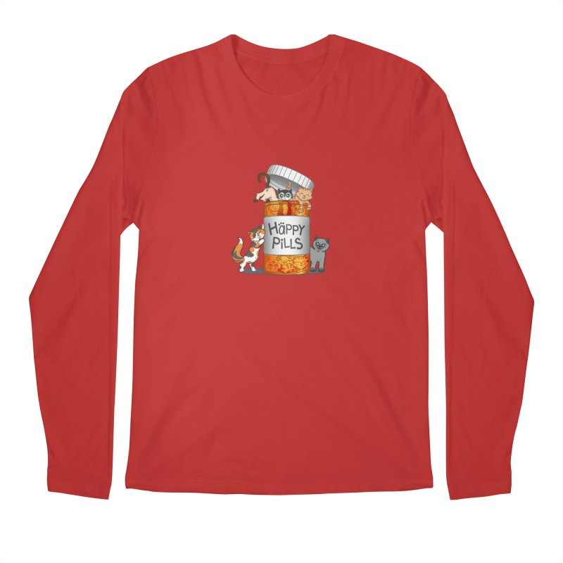 Happy Pills Men's Longsleeve T-Shirt by The Art of Helenasia