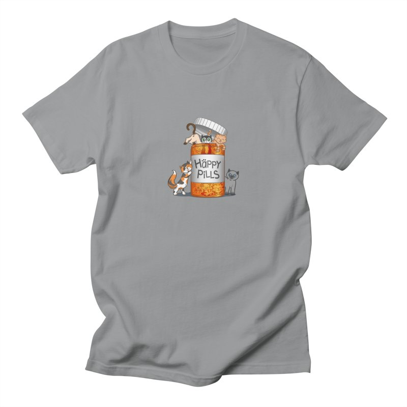Happy Pills Men's T-Shirt by The Art of Helenasia