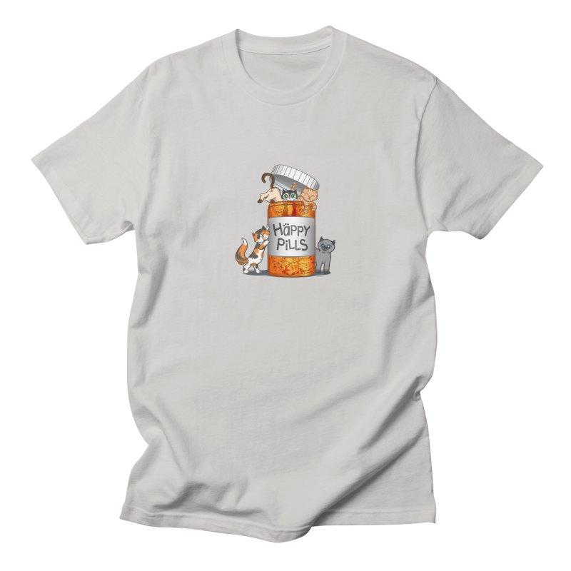 Happy Pills Men's T-Shirt by The Art of Helenasia