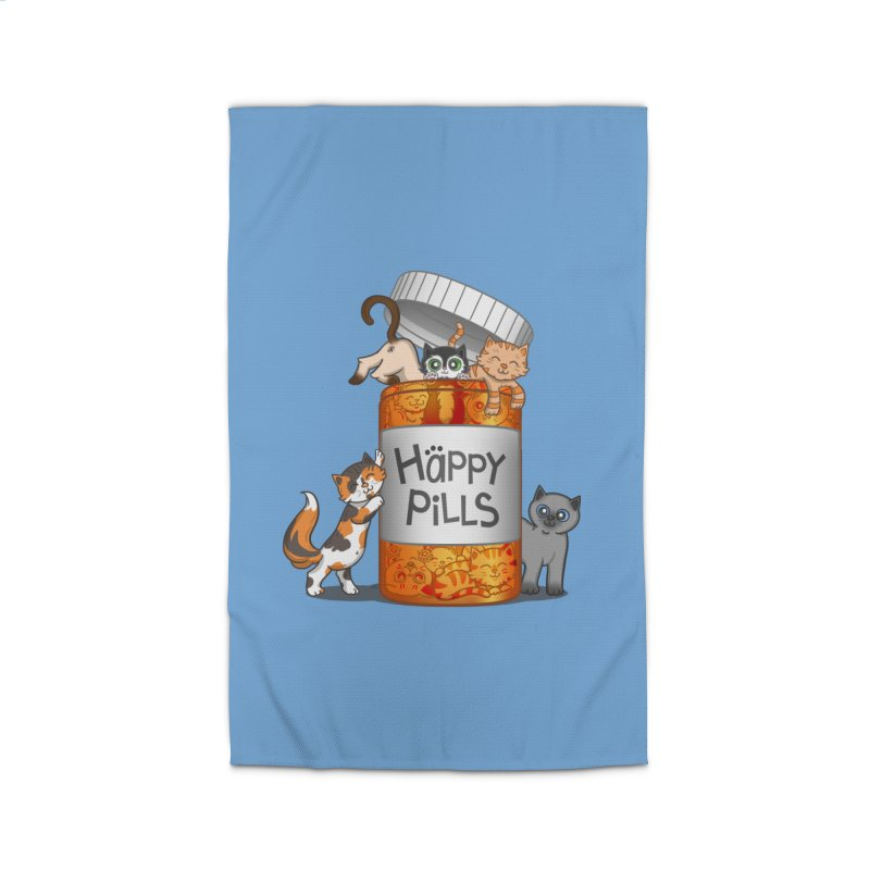 Happy Pills Home Rug by The Art of Helenasia