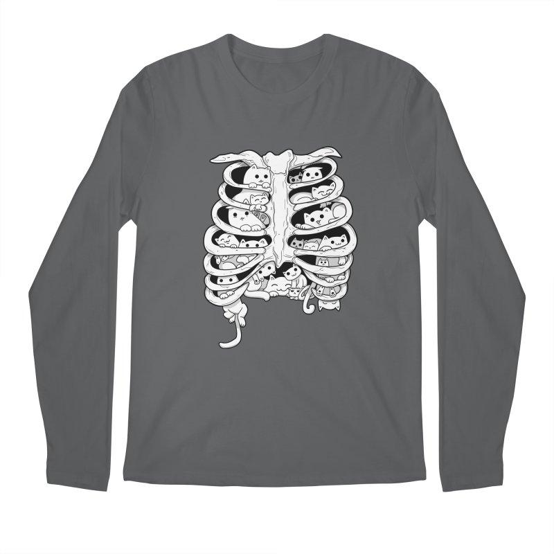 C.A.T.S. Men's Longsleeve T-Shirt by The Art of Helenasia