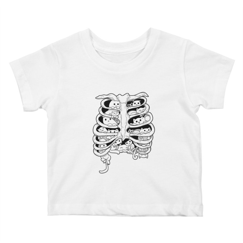 C.A.T.S. Kids Baby T-Shirt by The Art of Helenasia