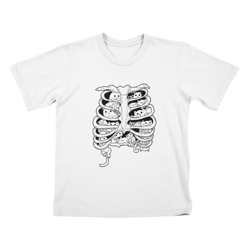 C.A.T.S. Kids T-shirt by The Art of Helenasia