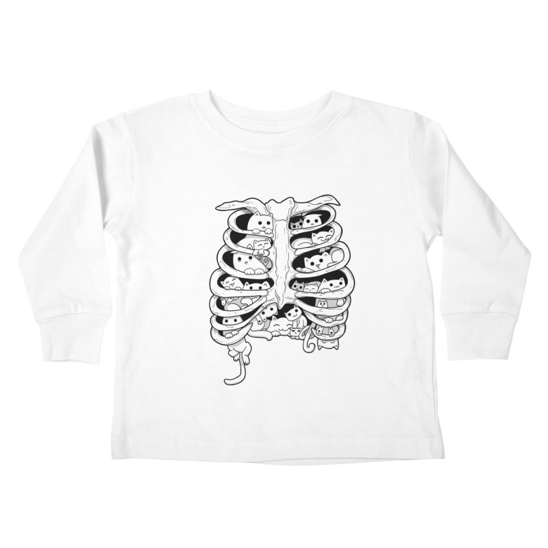 C.A.T.S. Kids Toddler Longsleeve T-Shirt by The Art of Helenasia