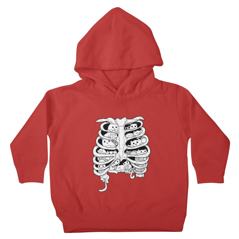 C.A.T.S. Kids Toddler Pullover Hoody by The Art of Helenasia