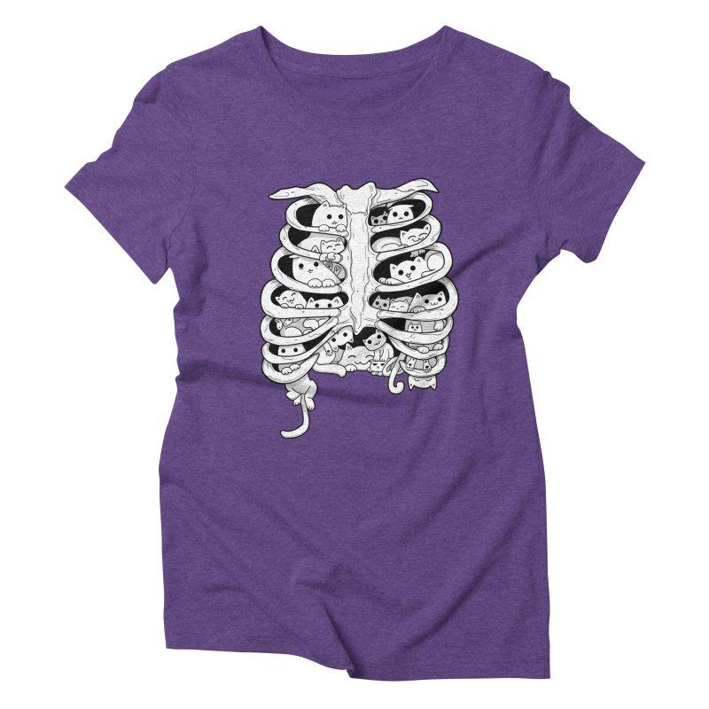 C.A.T.S. Women's Triblend T-shirt by The Art of Helenasia
