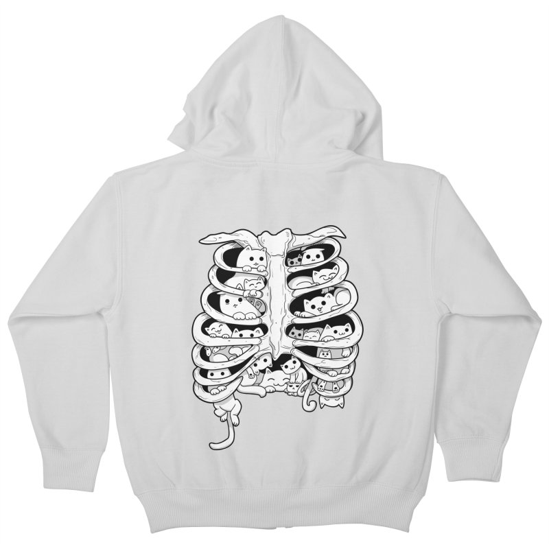 C.A.T.S. Kids Zip-Up Hoody by The Art of Helenasia