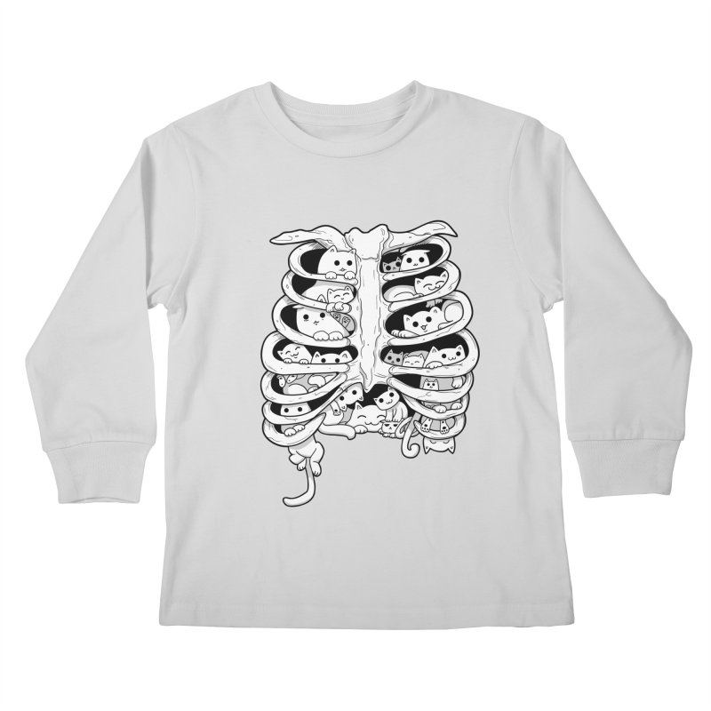 C.A.T.S. Kids Longsleeve T-Shirt by The Art of Helenasia