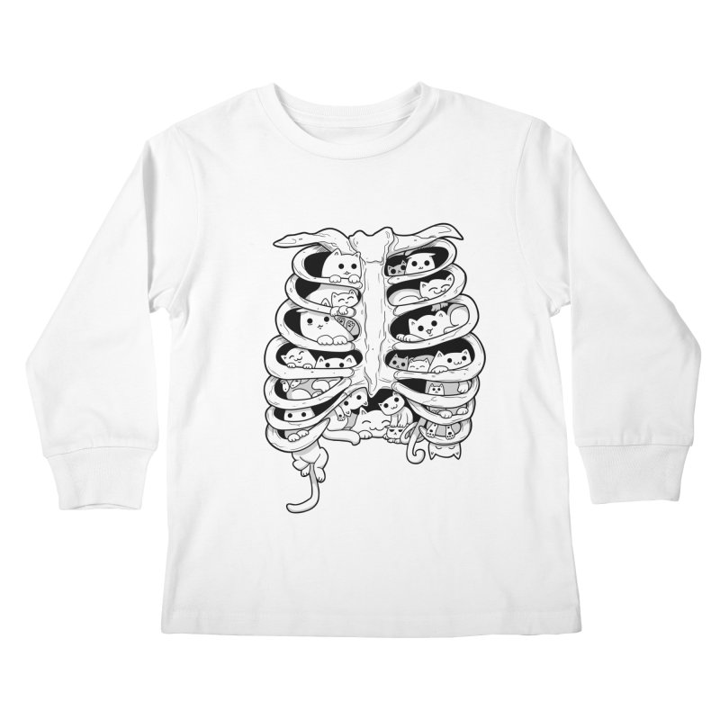C.A.T.S. Kids Longsleeve T-Shirt by The Art of Helenasia