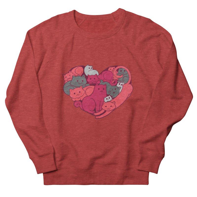 Purrfect Love Women's Sweatshirt by The Art of Helenasia