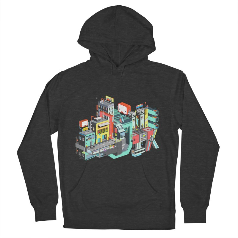 Next Stop Men's Pullover Hoody by Helenkaur's Artist Shop