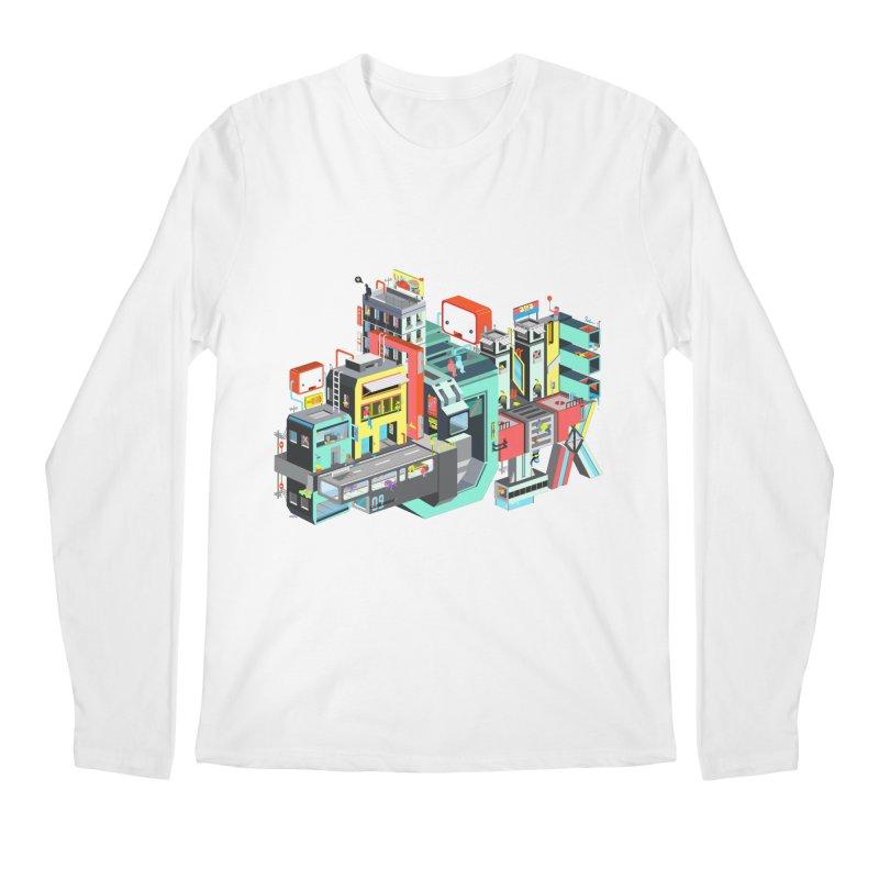 Next Stop Men's Longsleeve T-Shirt by Helenkaur's Artist Shop