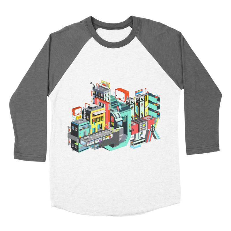 Next Stop Women's Baseball Triblend T-Shirt by Helenkaur's Artist Shop