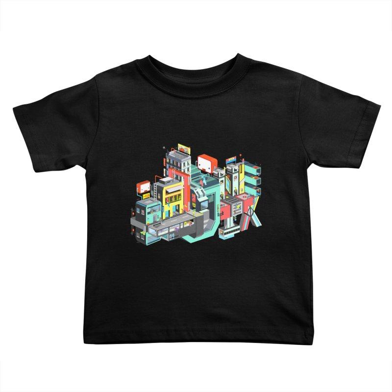 Next Stop Kids Toddler T-Shirt by Helenkaur's Artist Shop