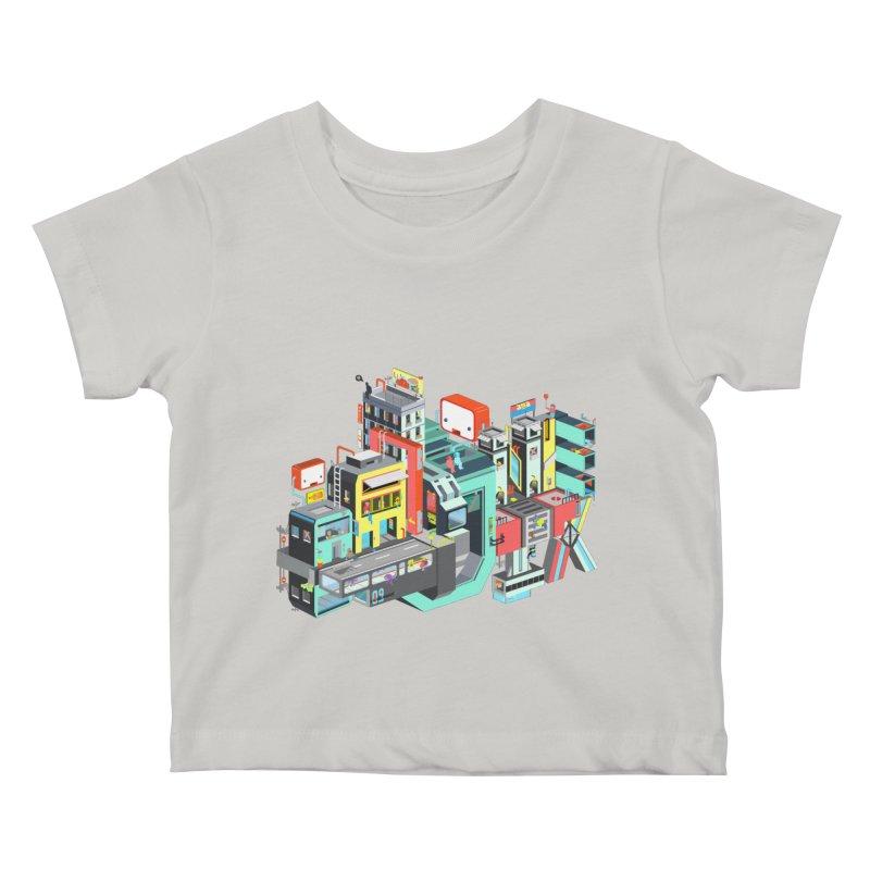 Next Stop Kids Baby T-Shirt by Helenkaur's Artist Shop