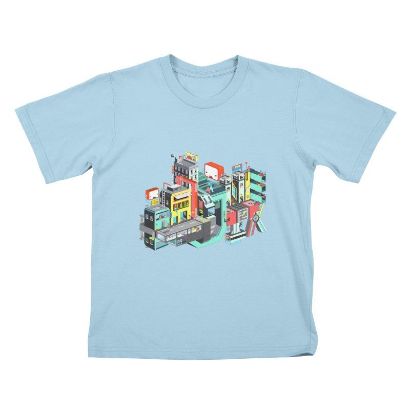 Next Stop Kids T-shirt by Helenkaur's Artist Shop