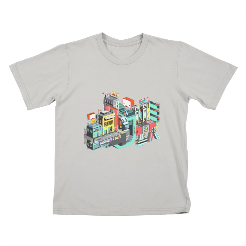 Next Stop Kids T-shirt by Helenkaur's Artist Shop