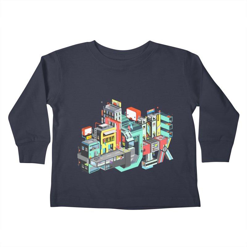 Next Stop Kids Toddler Longsleeve T-Shirt by Helenkaur's Artist Shop