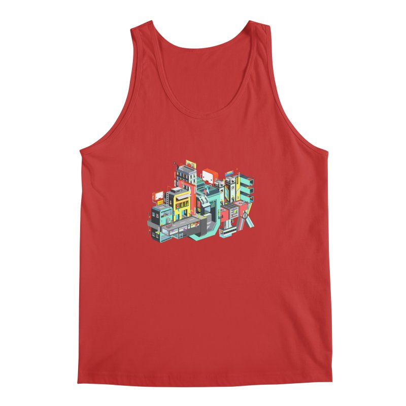 Next Stop Men's Tank by Helenkaur's Artist Shop