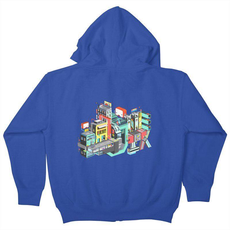 Next Stop Kids Zip-Up Hoody by Helenkaur's Artist Shop