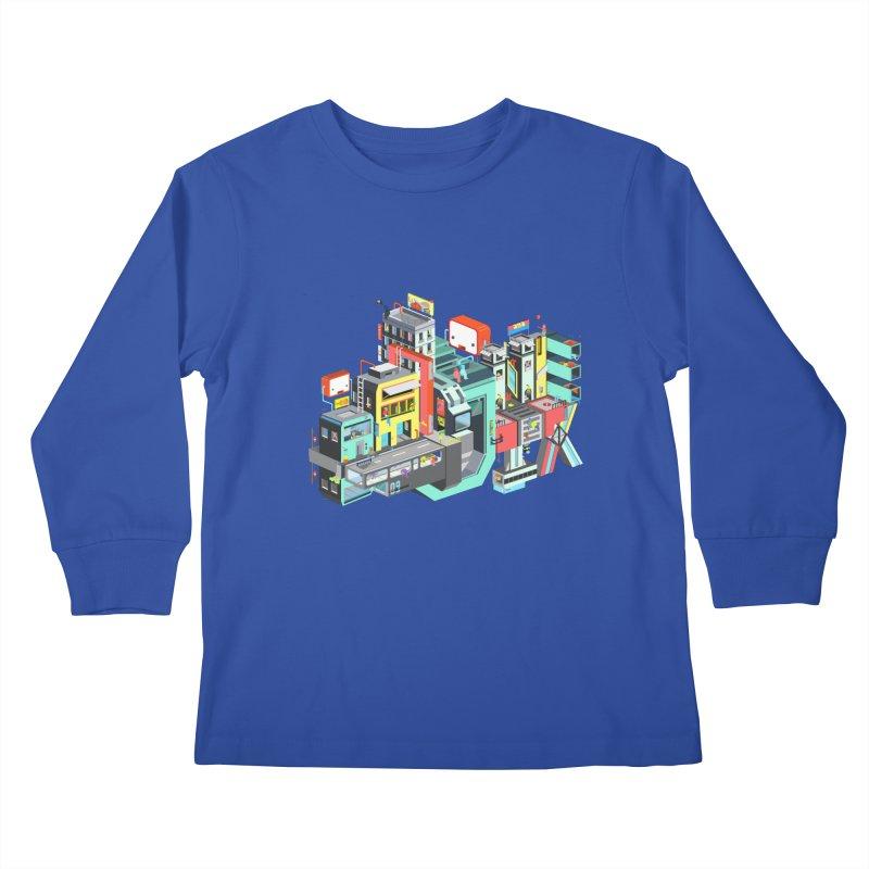 Next Stop Kids Longsleeve T-Shirt by Helenkaur's Artist Shop