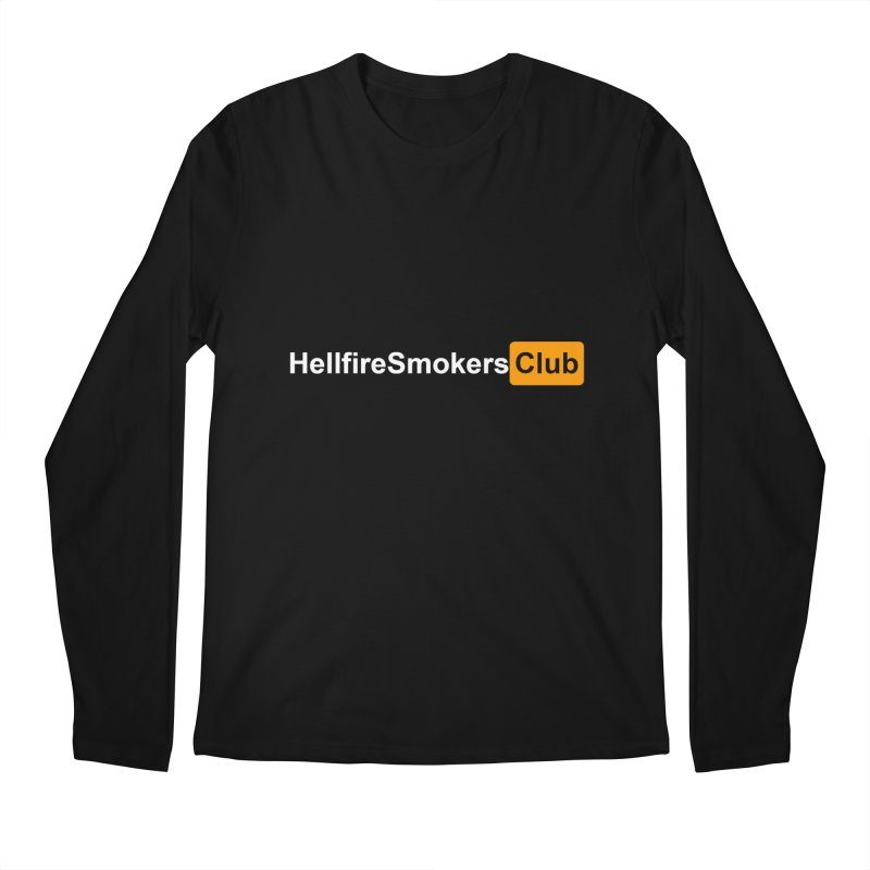 Hellfire Smokers Club - Hub Men's Longsleeve T-Shirt by hellfiresmokersclub's Artist Shop