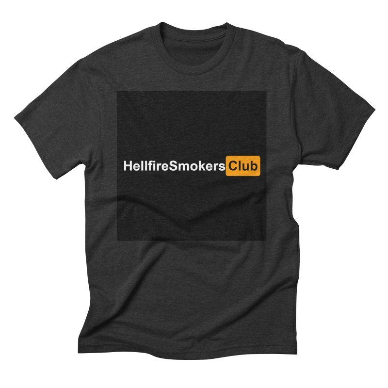 Hellfire Smokers Club - Hub Men's T-Shirt by hellfiresmokersclub's Artist Shop