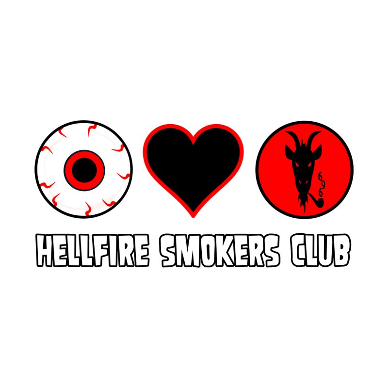 Hellfire Smokers Club - Eye Heart HSC Men's T-Shirt by hellfiresmokersclub's Artist Shop