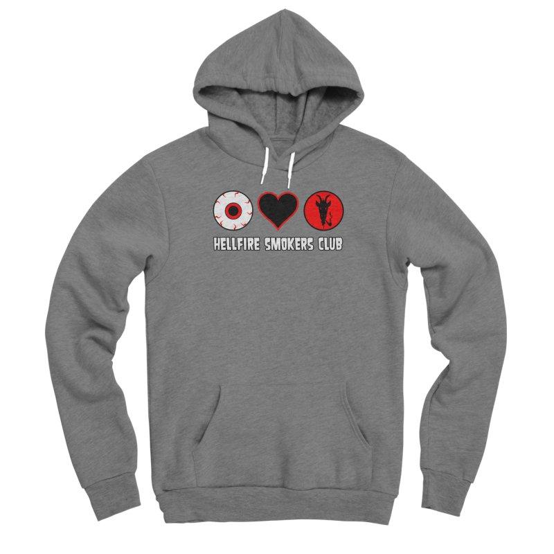 Hellfire Smokers Club - Eye Heart HSC Women's Pullover Hoody by hellfiresmokersclub's Artist Shop