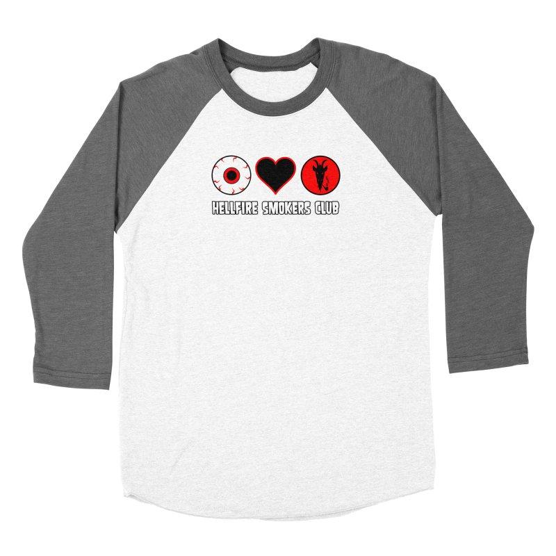 Hellfire Smokers Club - Eye Heart HSC Women's Longsleeve T-Shirt by hellfiresmokersclub's Artist Shop