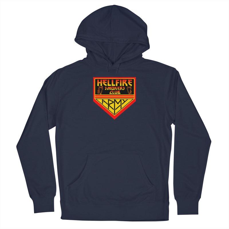 Hellfire Smokers Club - Army Men's Pullover Hoody by hellfiresmokersclub's Artist Shop