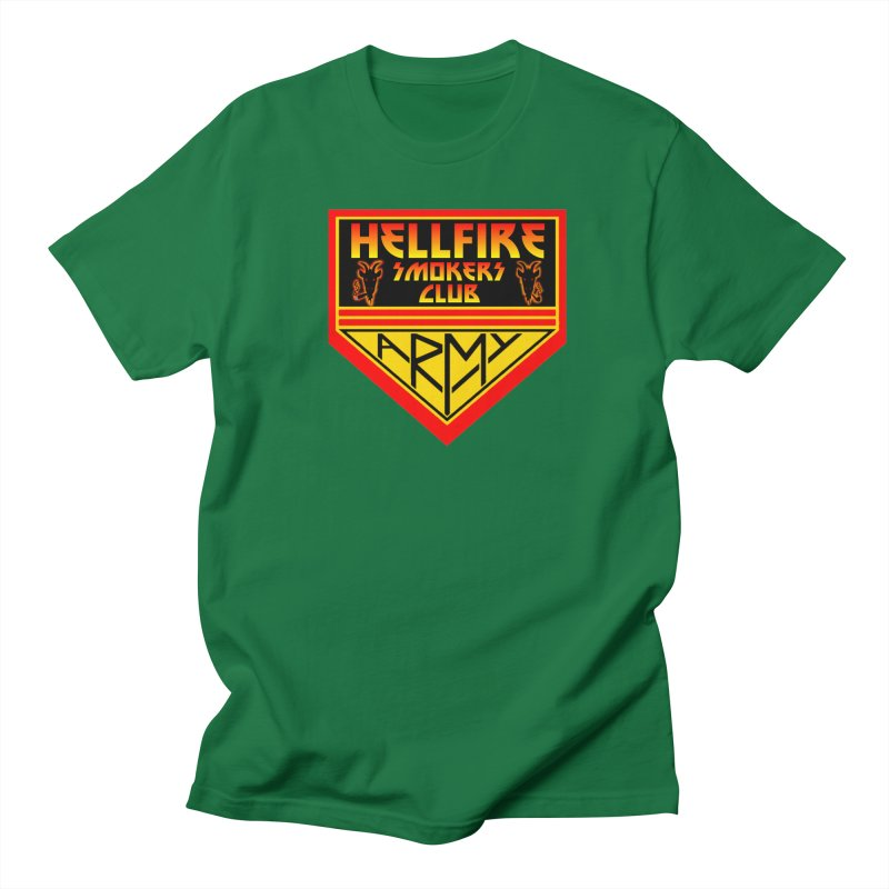 Hellfire Smokers Club - Army Men's T-Shirt by hellfiresmokersclub's Artist Shop
