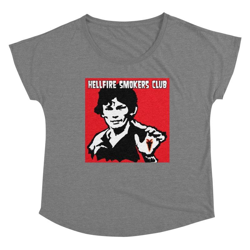 Hellfire Smokers Club - RR Women's Scoop Neck by hellfiresmokersclub's Artist Shop