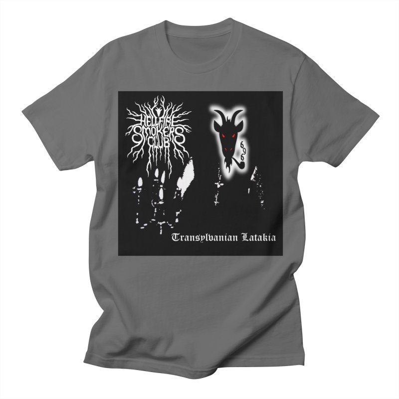 Hellfire Smokers Club - Transylvanian Latakia Men's T-Shirt by hellfiresmokersclub's Artist Shop