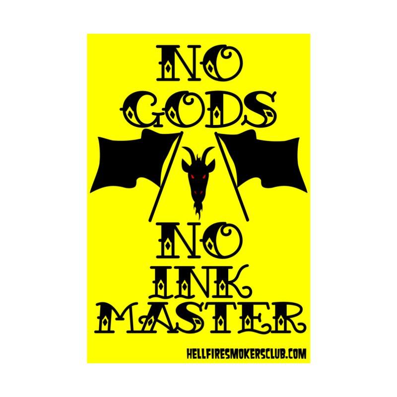 Hellfire Smokers Club - No Ink Master Sticker Accessories Sticker by hellfiresmokersclub's Artist Shop