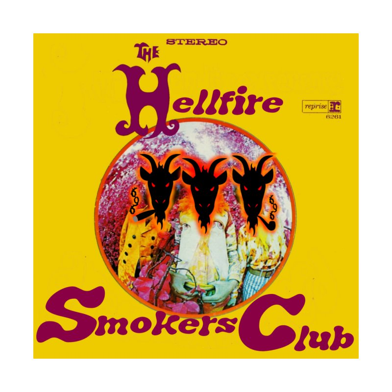 Hellfire Smokers Club - Experienced Sticker Accessories Sticker by hellfiresmokersclub's Artist Shop