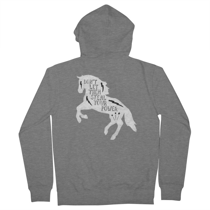 Don't Let Them Steal Your Power Men's Zip-Up Hoody by Hello Happiness!