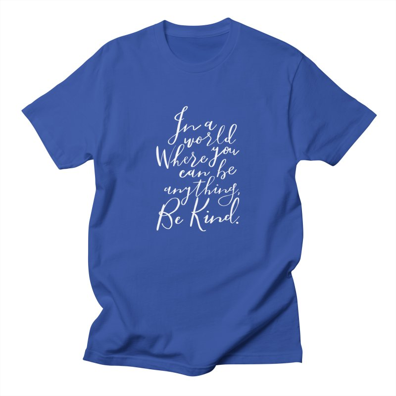 Be Kind Men's Regular T-Shirt by Hello Happiness!