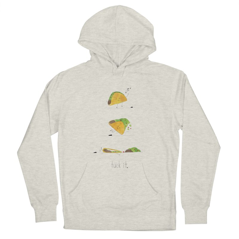 F it Taco Men's Pullover Hoody by Hello Happiness!