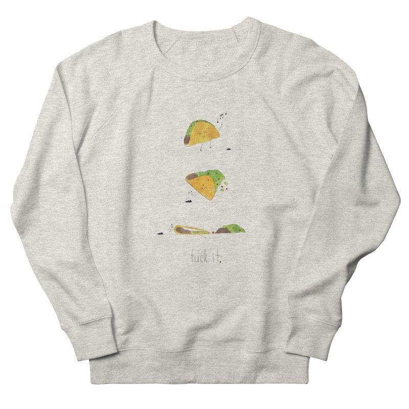 F it Taco Men's Sweatshirt by Hello Happiness!