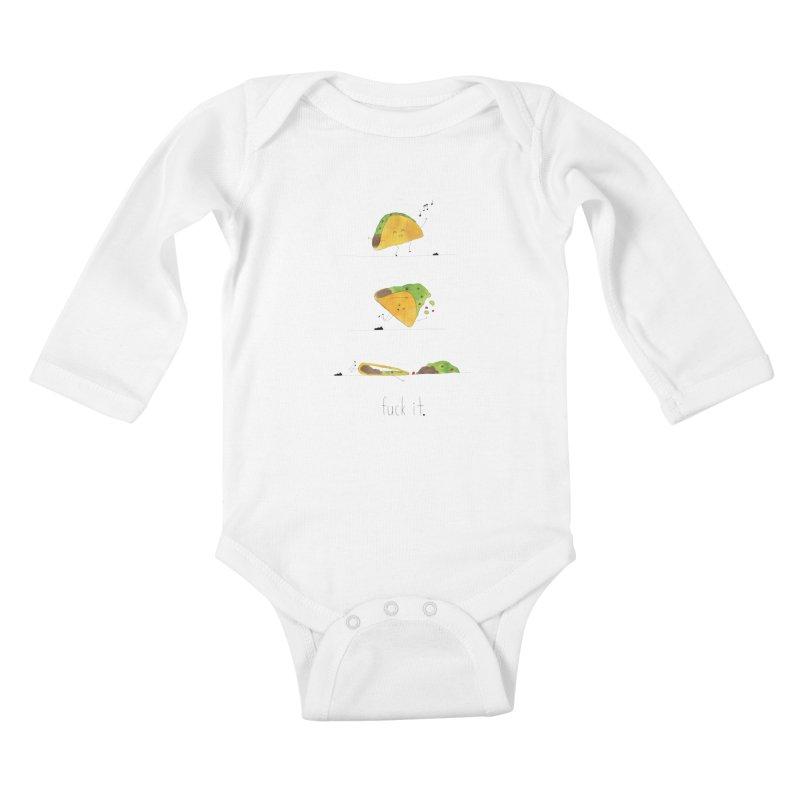 F it Taco Kids Baby Longsleeve Bodysuit by Hello Happiness!