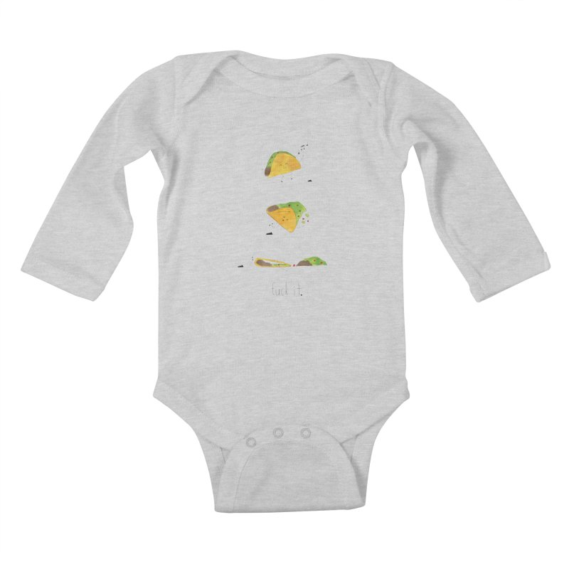 F it Taco Kids Baby Longsleeve Bodysuit by Hello Happiness!