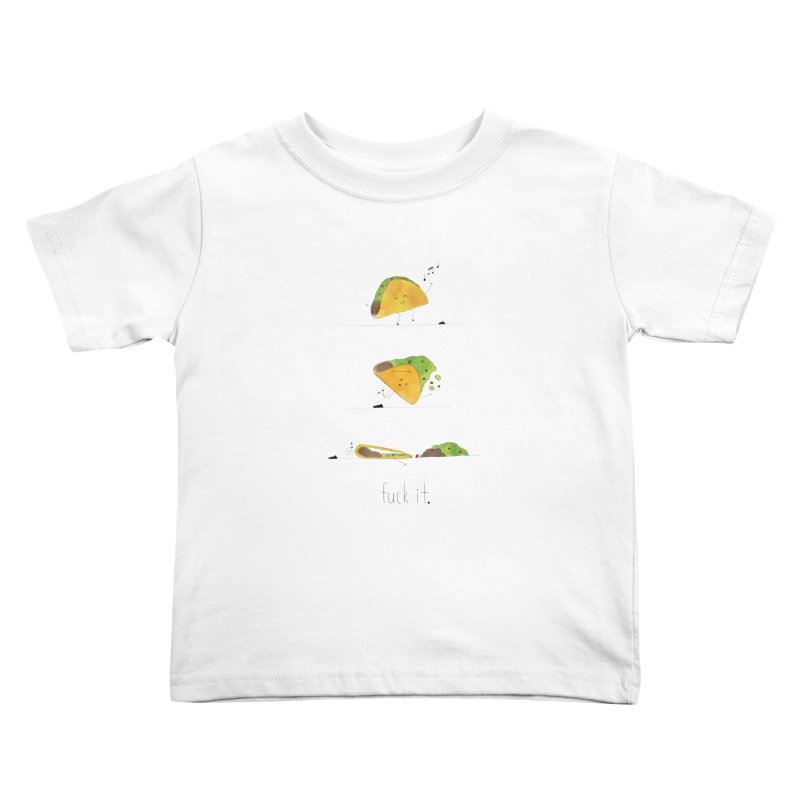 F it Taco Kids Toddler T-Shirt by Hello Happiness!