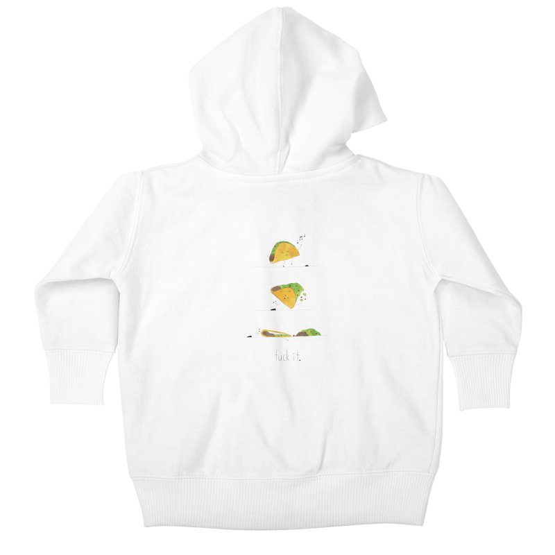 F it Taco Kids Baby Zip-Up Hoody by Hello Happiness!