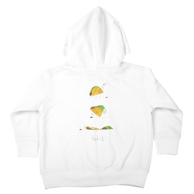 F it Taco Kids Toddler Zip-Up Hoody by Hello Happiness!