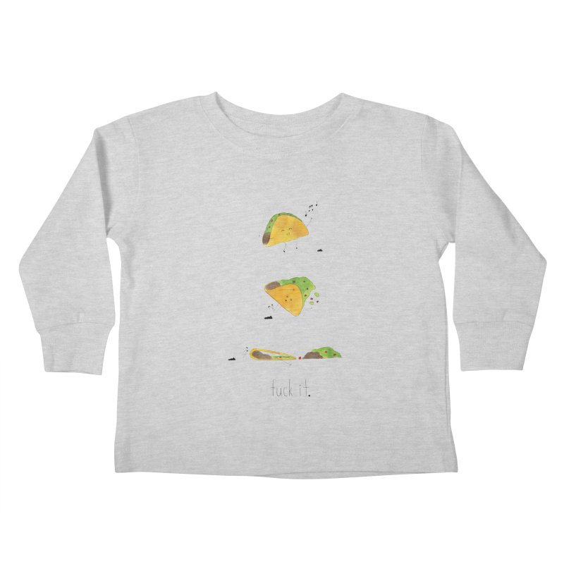 F it Taco Kids Toddler Longsleeve T-Shirt by Hello Happiness!