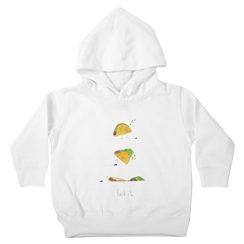 F it Taco Kids Toddler Pullover Hoody by Hello Happiness!