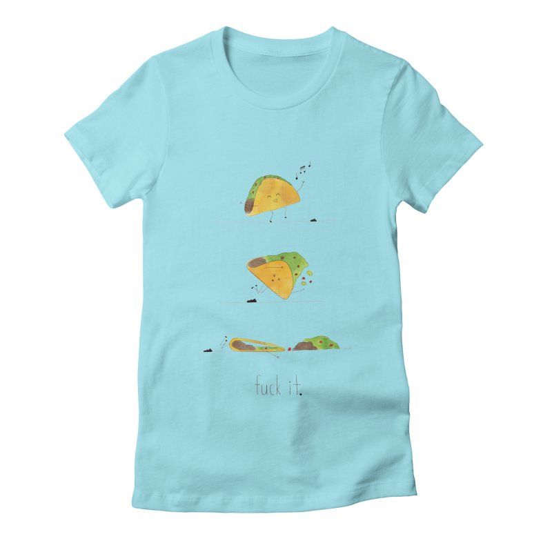 F it Taco Women's Fitted T-Shirt by Hello Happiness!
