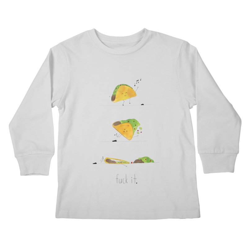 F it Taco Kids Longsleeve T-Shirt by Hello Happiness!
